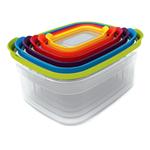 Joseph Joseph Nest Colorful 6 Piece Food Storage Container Set