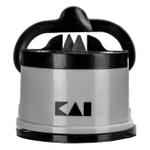 Kai Gray and Black Pull-Through Sharpener