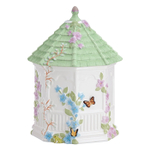 Lenox Butterfly Meadow Earthenware Gazebo Cookie Jar
