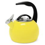 Chantal Canary Yellow Enamel On Steel 2 Quart Anniversary Teakettle