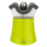 Peugeot Pep's Green Acrylic 3 Inch Combination Salt Shaker and Pepper Mill