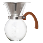HIC Pour-Over 22 Ounce Glass Coffee Maker