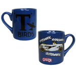 Grease Movie T-Birds Systematic, Hydromatic, Ultramatic Ceramic 14 Ounce Coffee Mug