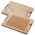 Ken Onion Design Reversible Maple and Cork 14 x 10 Inch Cutting Board