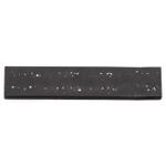 RSVP Black Quartz Stone 10 Inch Magnetic Knife Bar