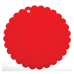 Norpro Red Silicone Flexible Jar Opener