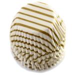 Norpro Gold Swirl Mini Cupcake Liner, Set of 100