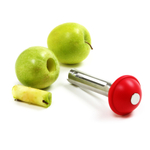 Norpro Stainless Steel Apple Corer with Plunger
