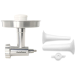 Chef's Choice Meat Grinder Attachment for KitchenAid Stand Mixer with Bonus SSA Sausage Stuffer