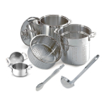 All-Clad Stainless Steel 6 Piece Soup and Steamer Set