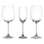 Nachtmann Vivendi Pinot, Bordeaux and White 12 Piece Wine Glass Set