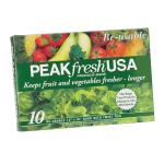 PEAKfresh 10 Pack Reusable Produce Bags
