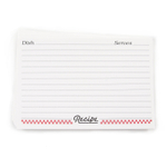 Weatherbee 4 x 6 Inch Recipe Cards, Set of 24