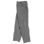 Chef's Culinary Uniform Black & White Twill Pants L