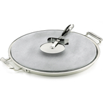 All-Clad Stainless Steel Pizza Stone With Cutting Wheel