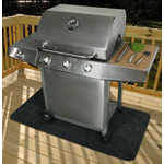 Drymate Charcoal 30 x 58  Inch Gas Grill Mat