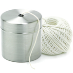 Norpro Cotton Cooking Twine with Stainless Steel Holder, 220 Feet