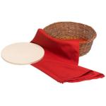 Bialetti Wicker Warming Stone Bread Basket
