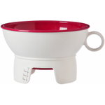 Progressive International Red and White Canning Funnel for Wide and Regular Jars