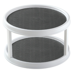 Copco Non-Skid 2-Tiered Cabinet Turntable, 12 Inch