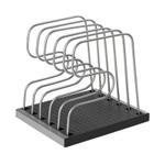 Copco Silver Adjustable Bakeware Organizer Rack