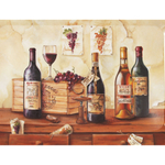 European Wine Bottle Medium Serving Tray