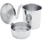 Norpro Stainless Steel Grease Catcher and Strainer, 2 Cup