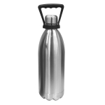 Oggi Stainless Steel Double Wall Beer Growler with Handle