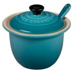 Le Creuset Caribbean Stoneware 4 Ounce Condiment Pot