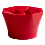 Chef'n PopTop Cherry Silicone Popcorn Popper