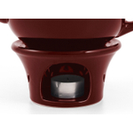 Metropolitan Tea Burgundy Ceramic Teapot Warmer