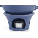 Metropolitan Tea Denim Blue Ceramic Teapot Warmer
