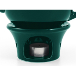 Metropolitan Tea Green Ceramic Teapot Warmer