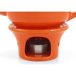 Metropolitan Tea Orange Ceramic Teapot Warmer