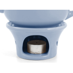 Metropolitan Tea Powder Blue Ceramic Teapot Warmer