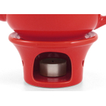 Metropolitan Tea Red Ceramic Teapot Warmer