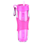 Trudeau Cool Off Pink Double Wall 24 Ounce Hydration Bottle
