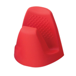 Cook Essentials Cherry Red Silicone Pot Grabber