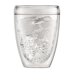 Bodum Pavina Outdoor 12 Ounce Double Wall Tumbler Glass, Set of 6