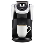 Keurig 2.0 K250 Black Brewing System with Touch Display