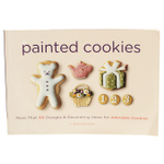 Painted Cookies: More Than 60 Designs and Decorating Ideas for Adorable Cookies Paperback Book By Akiko Hoshino