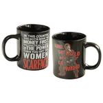 Universal Studios Scarface Movie Say Hello To My Lil' Friend Ceramic 14 Ounce Coffee Mug