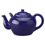 HIC Harold Import Co Cobalt Blue Porcelain 75 Ounce Teapot