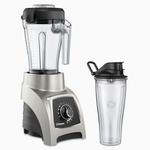 Vitamix S55 Brushed Stainless 40 Ounce Blender with 20 Ounce Travel Cup