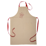 Le Creuset Heritage Cherry Linen Adjustable Kitchen Apron
