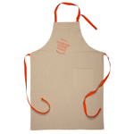Le Creuset Heritage Flame Linen Adjustable Kitchen Apron