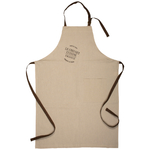 Le Creuset Heritage Truffle Linen Adjustable Kitchen Apron