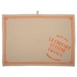 Le Creuset Heritage Flame Linen 27.5 x 20 Inch Tea Towel