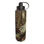 Eco Vessel Bigfoot Mossy Oak Stainless Steel Triple Insulated 45 Ounce Water Bottle with Screw Cap