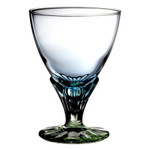 Bormioli Rocco Bahia Bi-color 12.25 Ounce Glass Dessert Cup, Set of 6